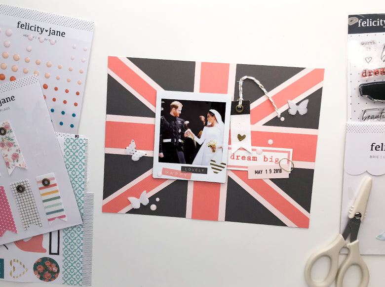 Royal Wedding 6x8 Layout | Adelina Starace