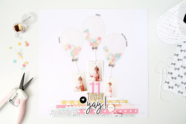 11 Today Yay Layout + Process Video | Sheree Forcier