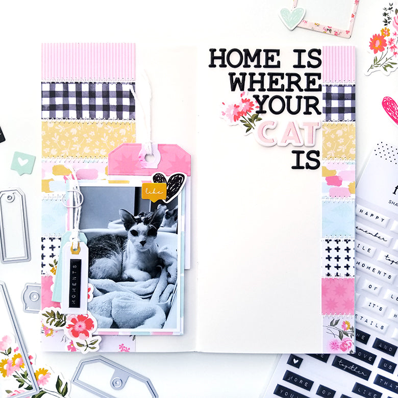 'Home Is' TN Layout | Tina Stepanova