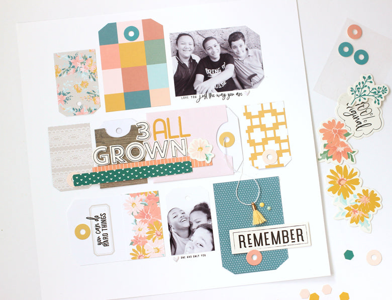 3 All Grown Layout | Nancy Damiano
