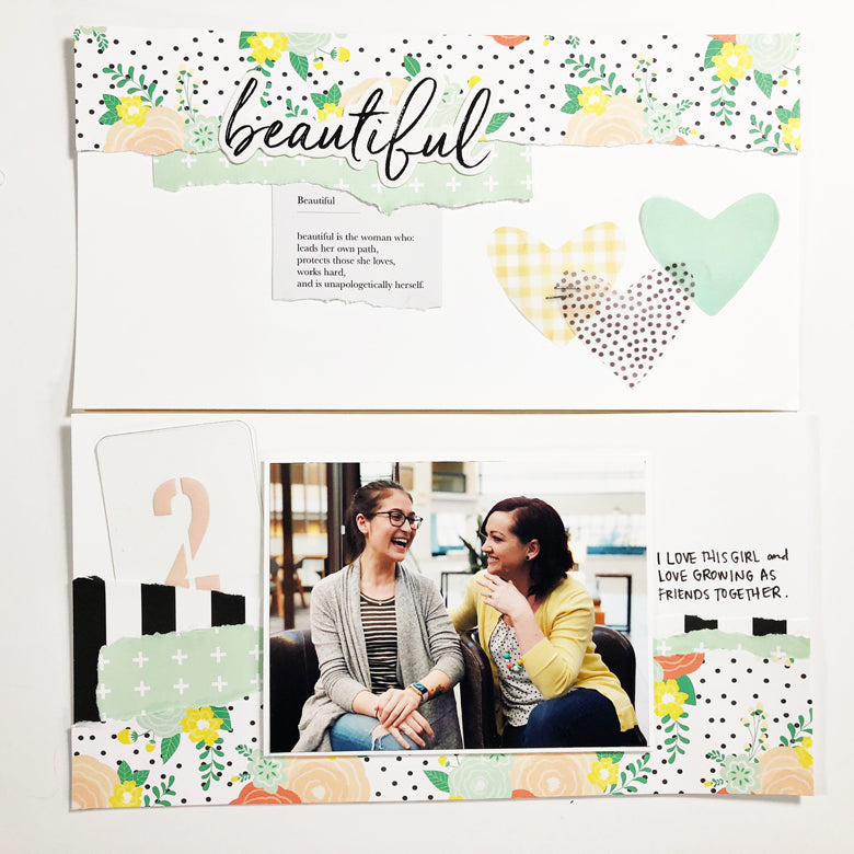 Beautiful TN Layout + Sketch | Andrea Gray