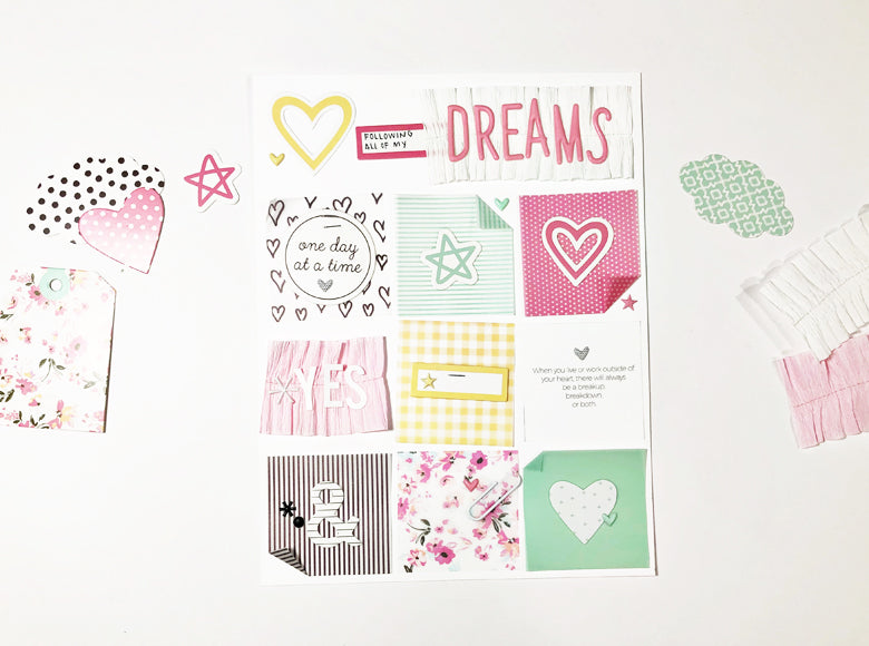 Dreams Layout | Andrea Gray