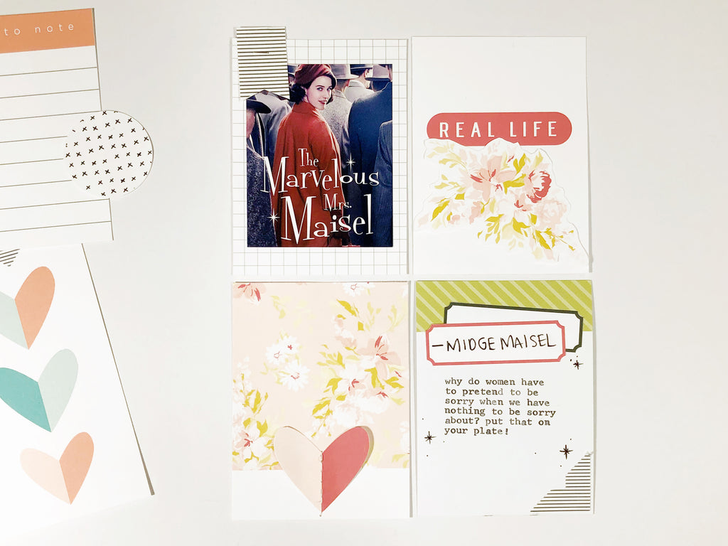 Pocket Page with the Alexis Digital Kit | Andrea Gray