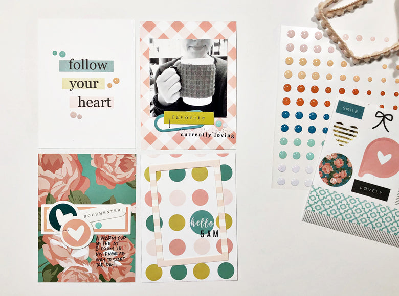 Hello 5 AM Layout | Andrea Gray