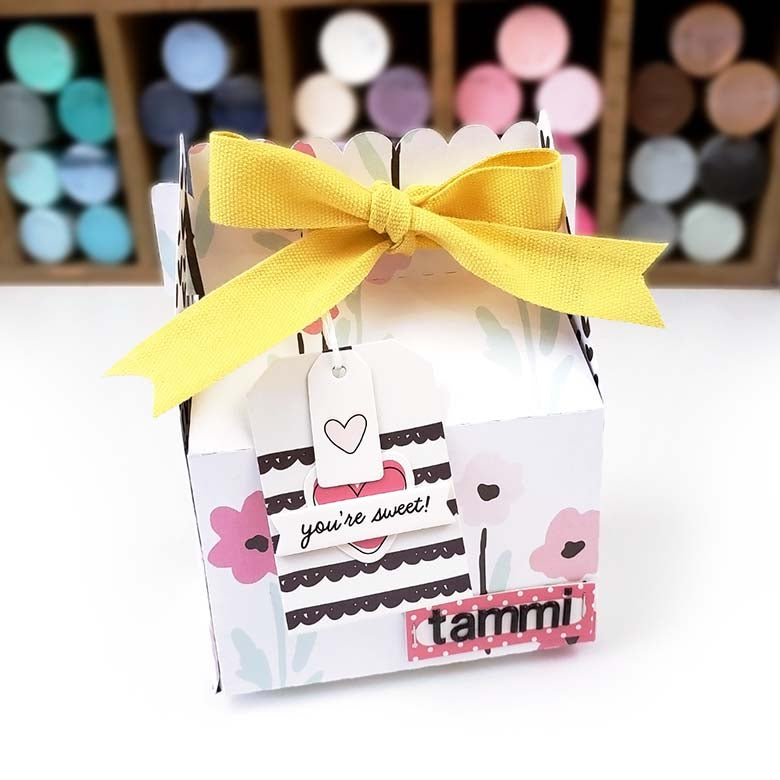 Treat Box with Gift Card Envelope | Lindsey Lanning