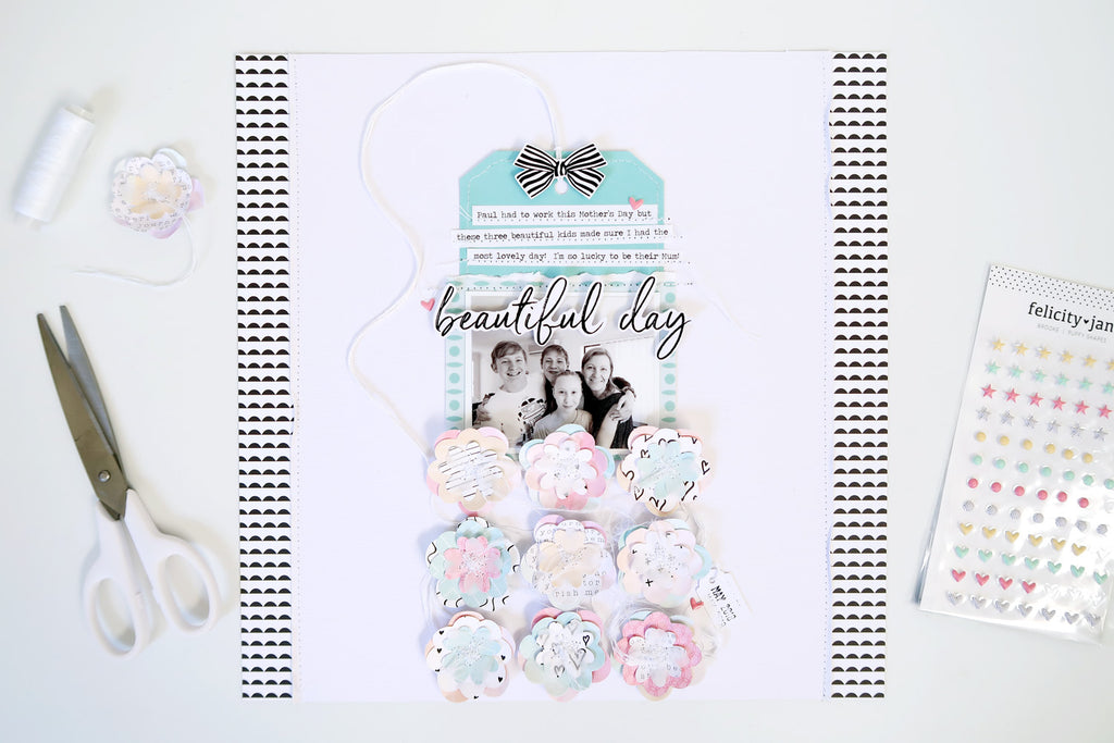 Beautiful Day Layout | Sheree Forcier