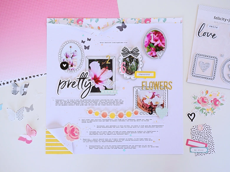 Favorite Flowers Layout | Ulrike Dold