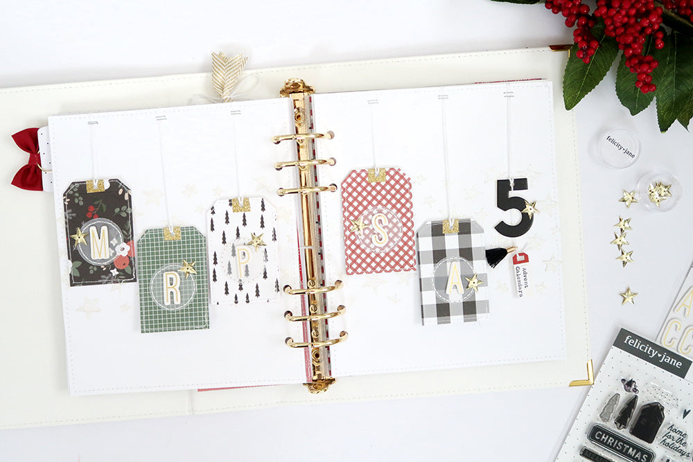 December Tag Spread | Sheree Forcier