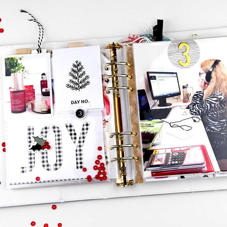 December Album Stamp & Cut File Inspiration with Holly | Lorilei Murphy