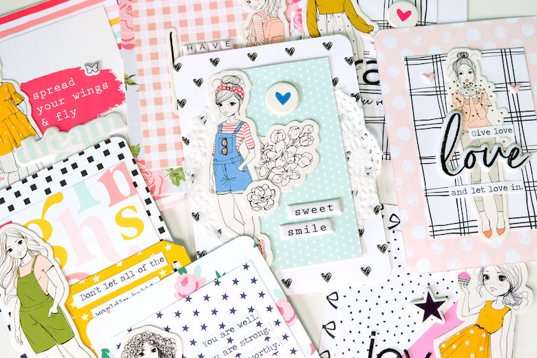 FJ Girls Encouragement Cards | Tiffany Julia