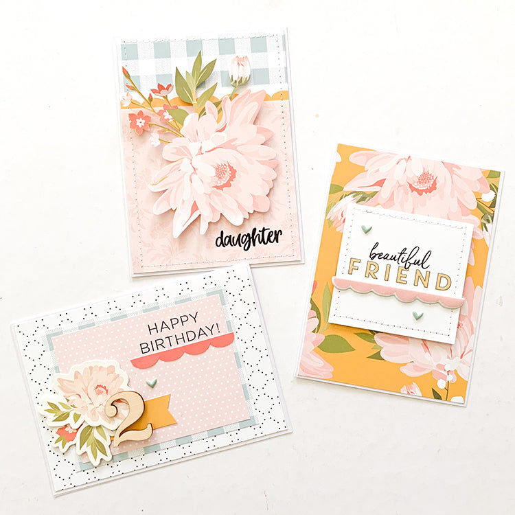Card Making with the Denise Kit | Mandy Melville