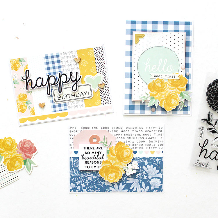 Cards with the Sarah Kit | Mandy Melville