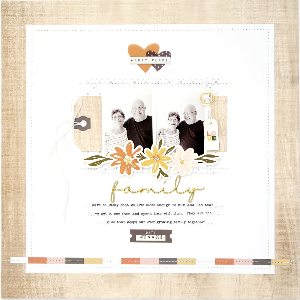 Family Layout with Process Video | Sheree Forcier