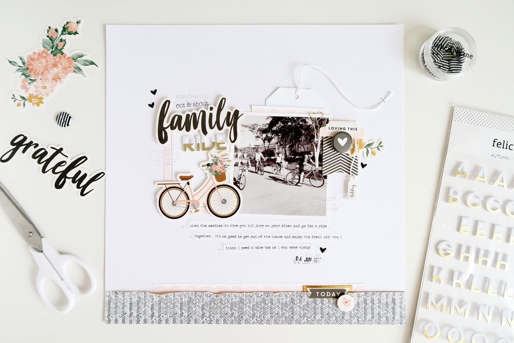 Family Ride Layout | Sheree Forcier