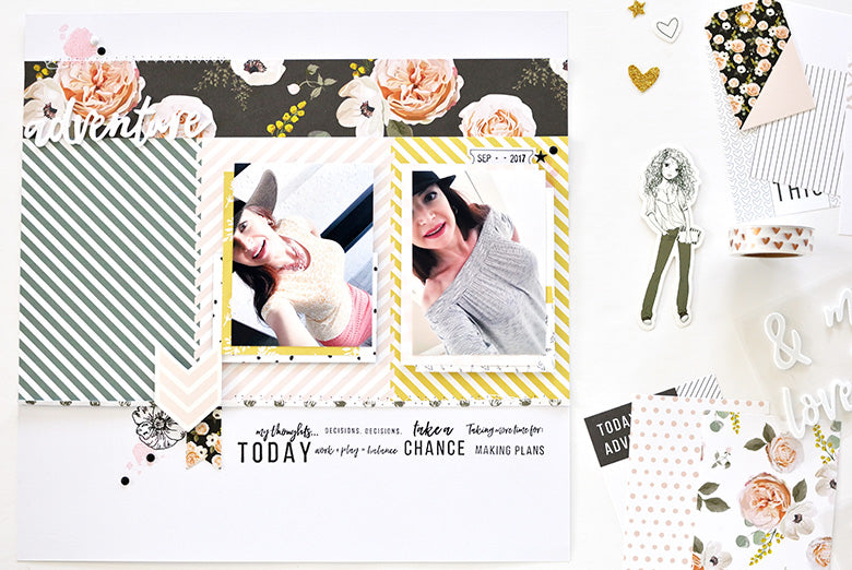 Adventure Layout | Leigh Ann Odynski