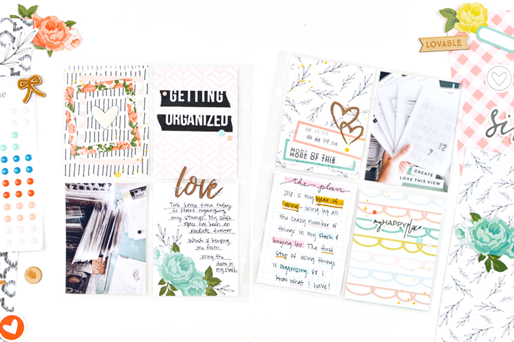 Getting Organized Pocket Pages | Suzanna Stein