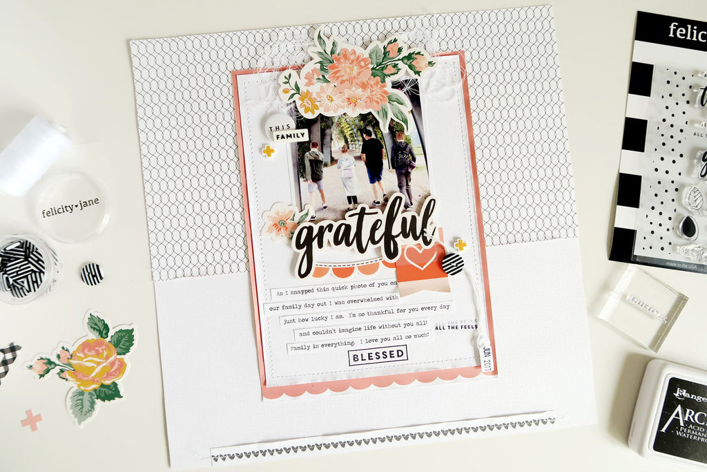 Grateful Layout | Sheree Forcier