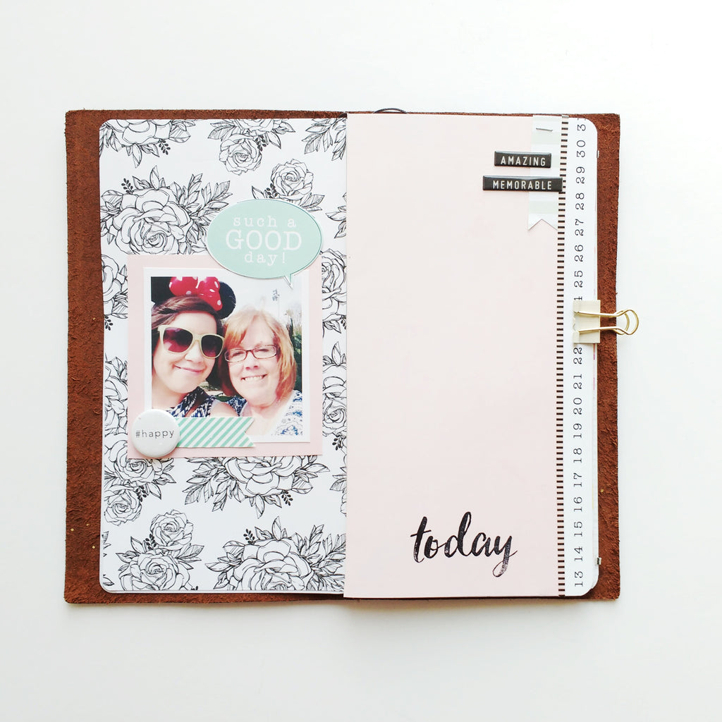 March Travelers Notebook | Becky Homick