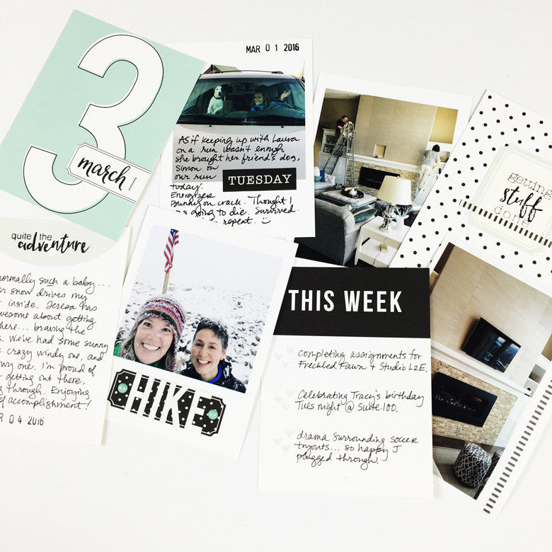 March pocket pages | Julie Kinneeveauk