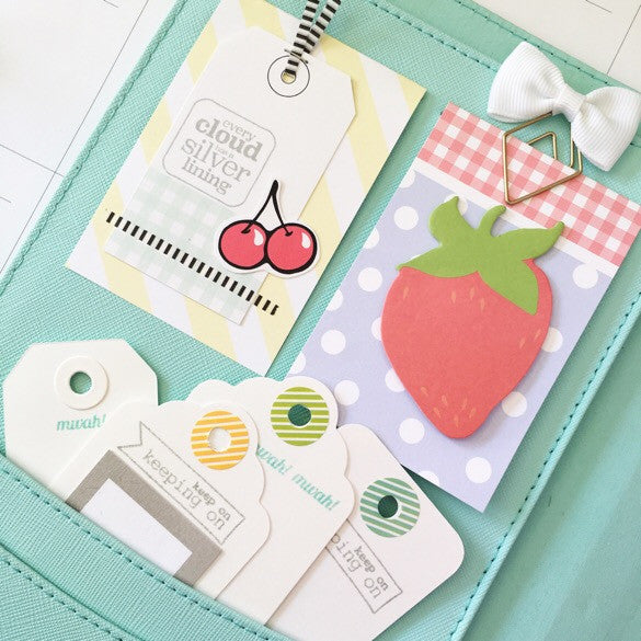 Kikki K front pocket decor | Julie Kinneeveauk
