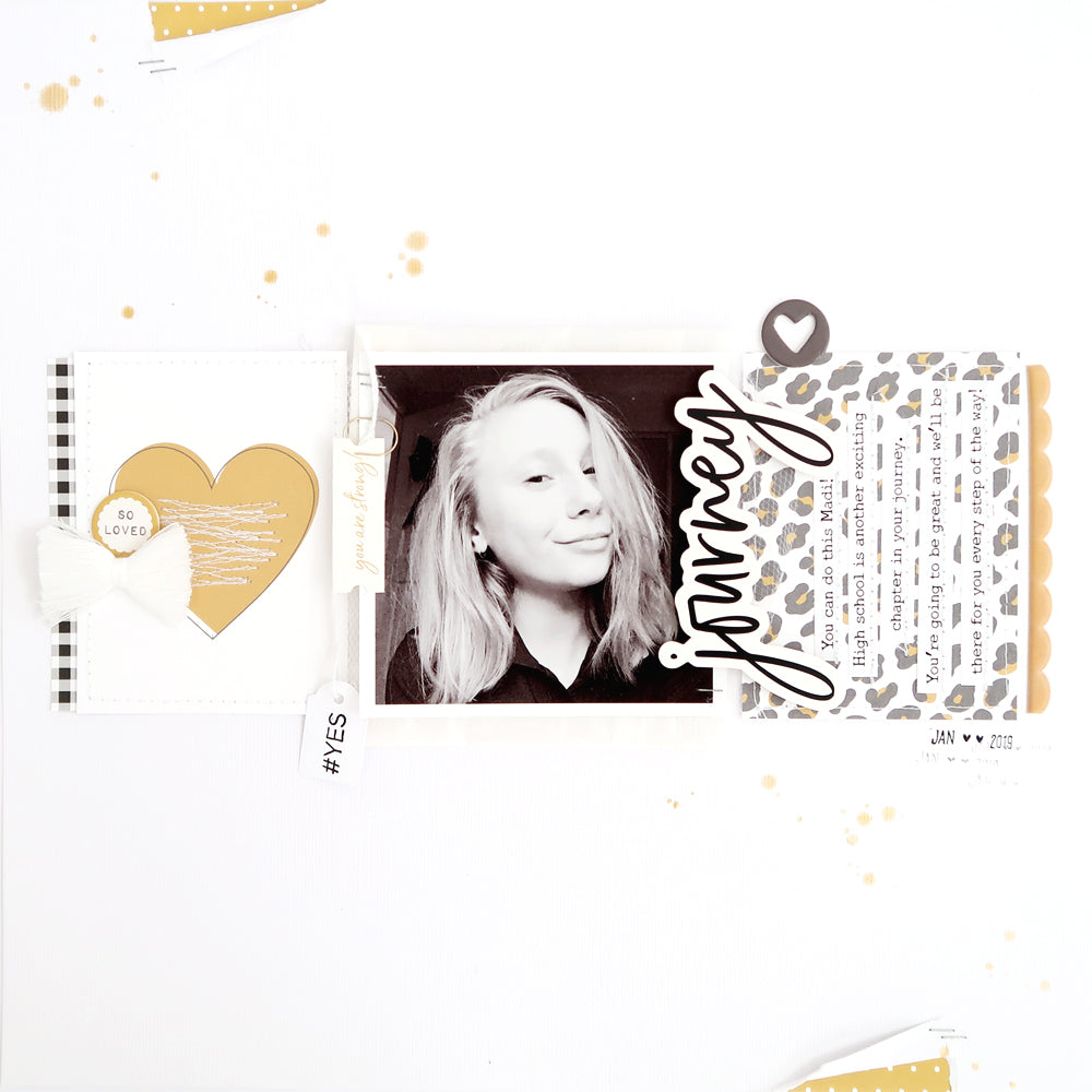 Journey Layout with Process Video | Sheree Forcier