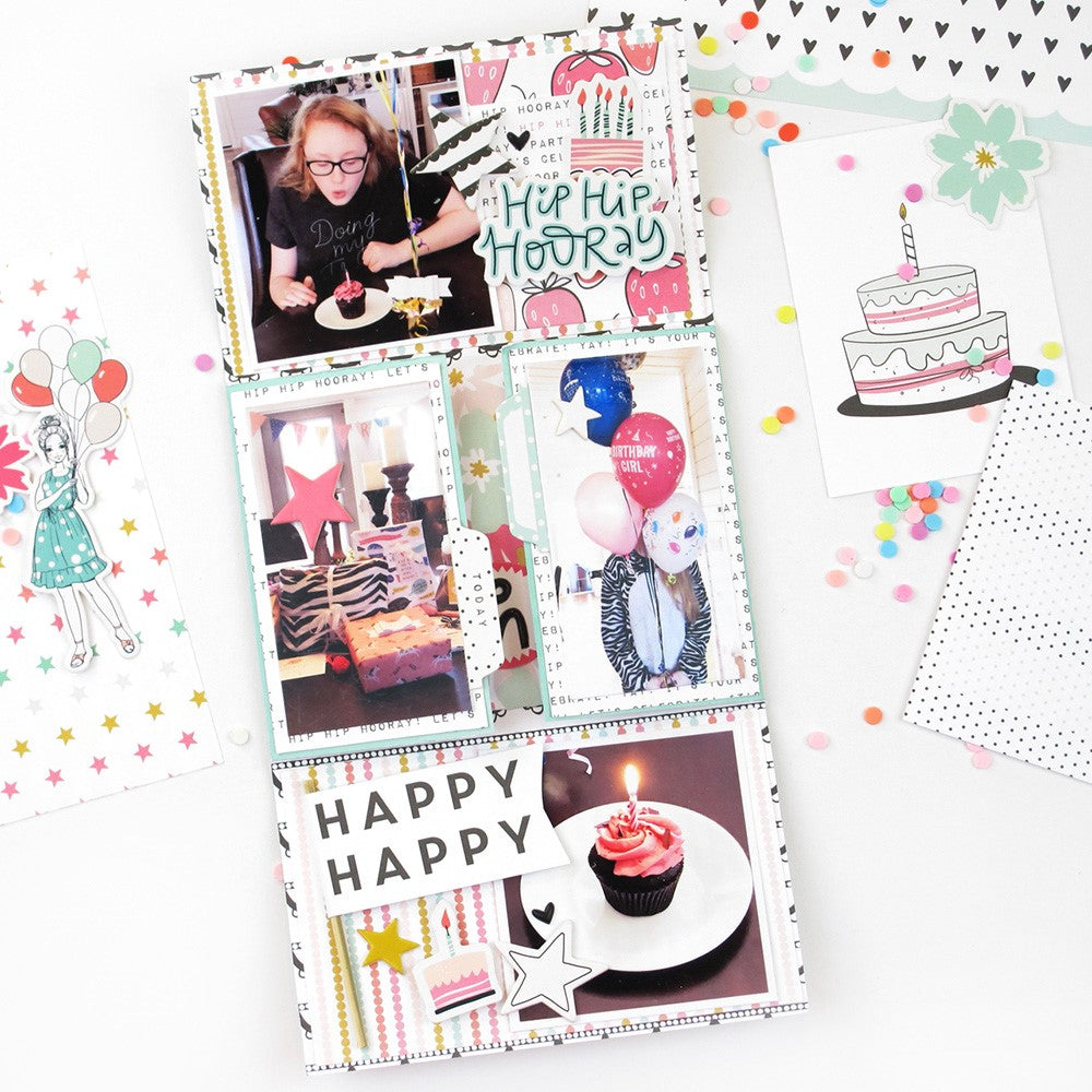 Birthday Mini Album with the Jenny Kit | Lorilei Murphy
