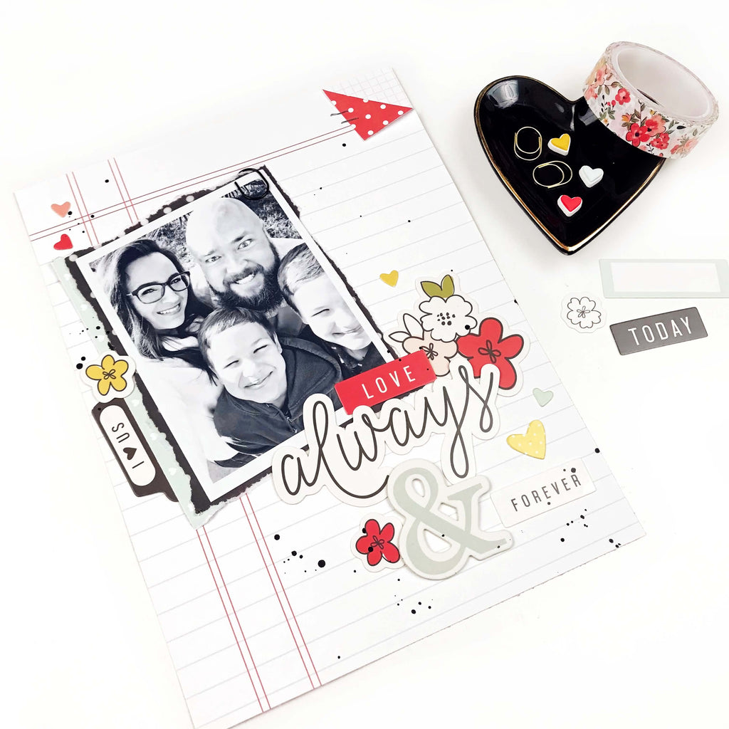6x8 Layout | Always & Forever | Lindsey Lanning