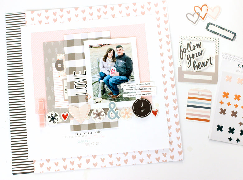 Love Layout | Nancy Damiano