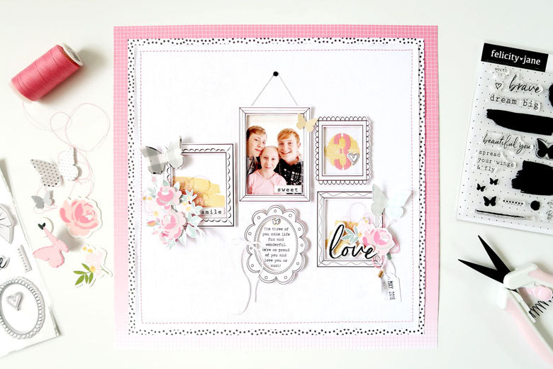 Love Layout + Sketch + Process Video | Sheree Forcier