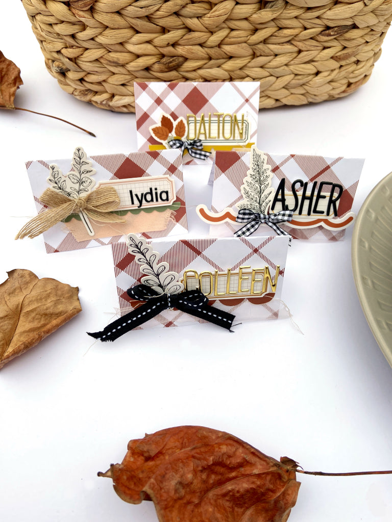 Thanksgiving Place Cards │ Mix-It Monday │ Lydia Cost