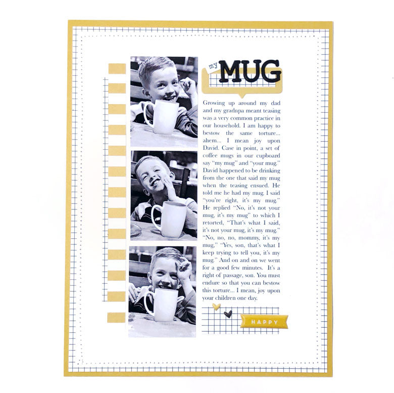 My Mug Layout | Lynne Ashcraft