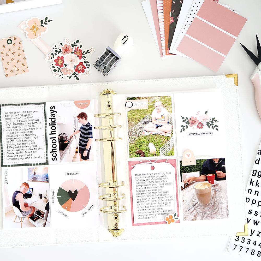 January Pocket Pages | Sheree Forcier
