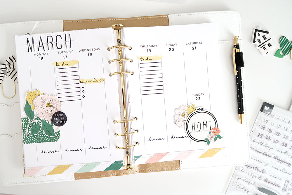 Note to Self Everyday Moments Planner Pages - March 2020 | Sheree Forcier