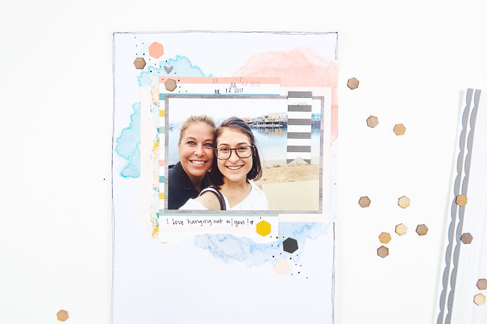 Me 'n You Scrapbook Layout | Suzanna Stein