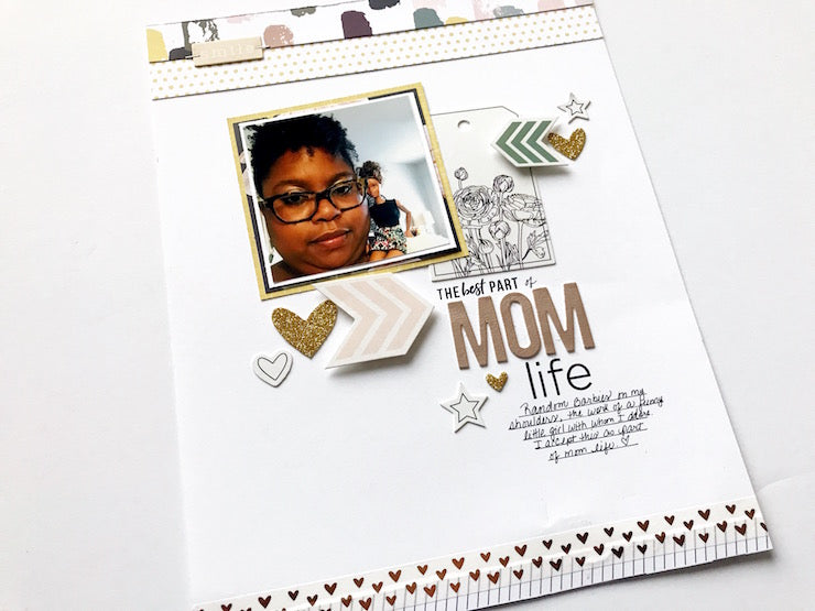 Mom Life Layout | Victoria Calvin