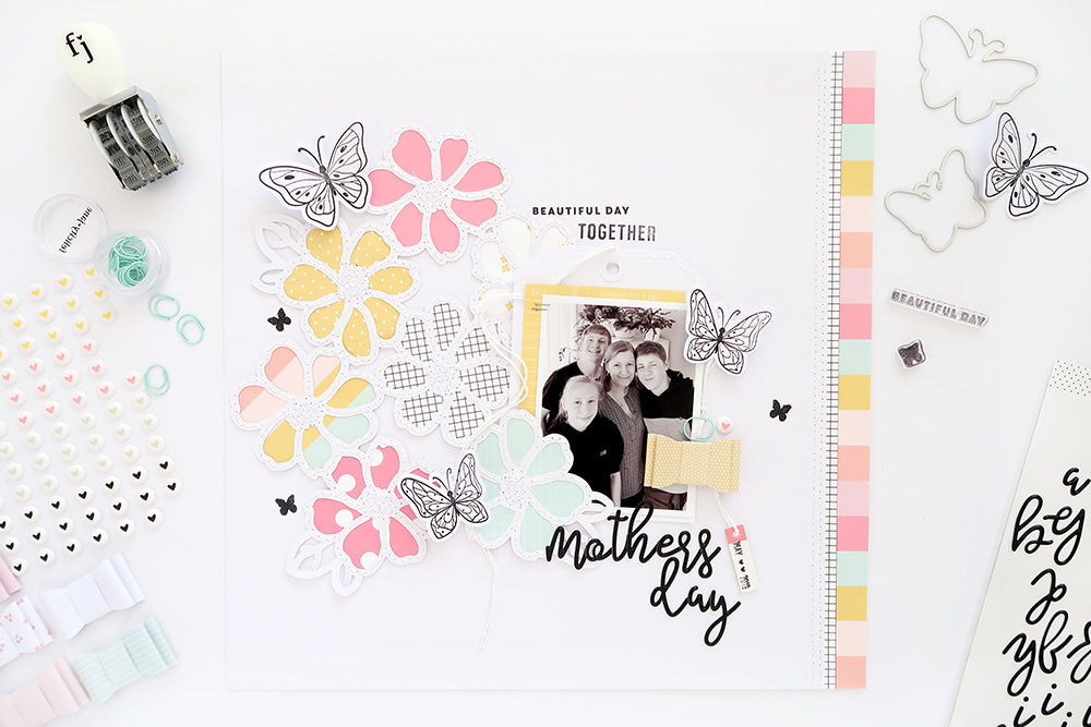 Mother's Day Layout | Sheree Forcier