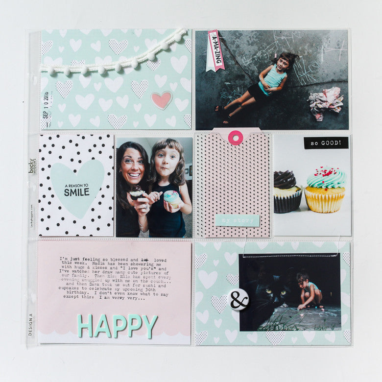 Off the Page | Pocket Page Layout by Marybeth