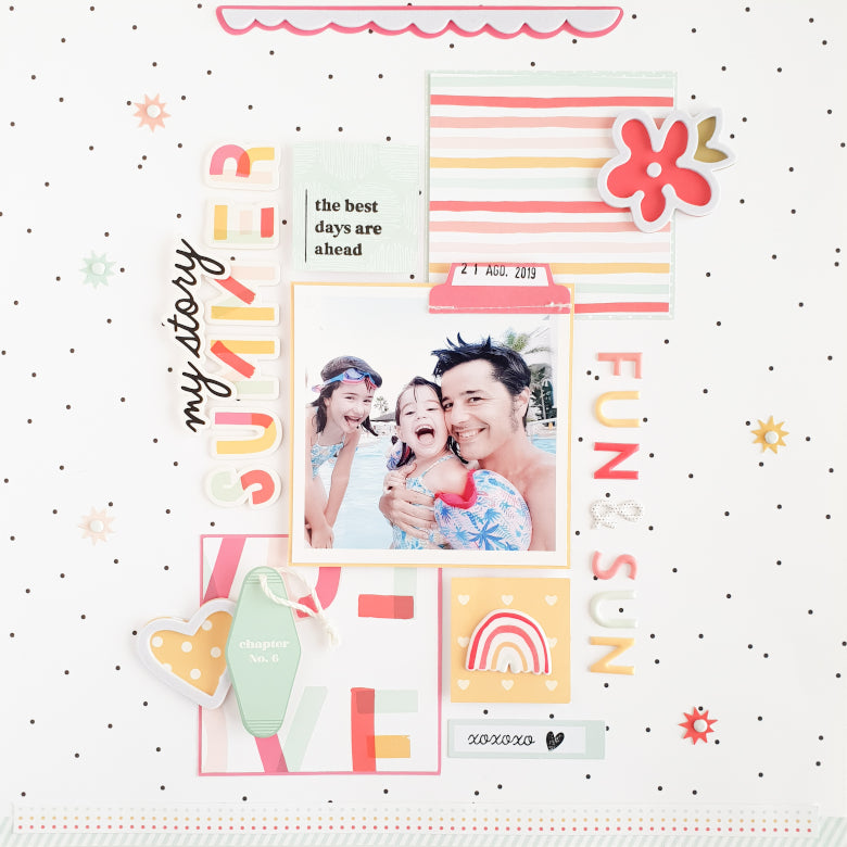 Summer Layout | Anna Blades