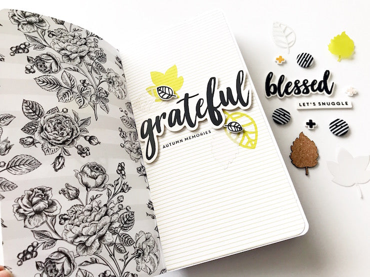 Grateful Traveler's Notebook | Victoria Calvin