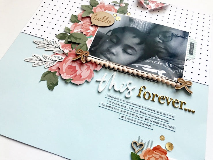 This Forever Layout Using the Henley Kit | Victoria Calvin