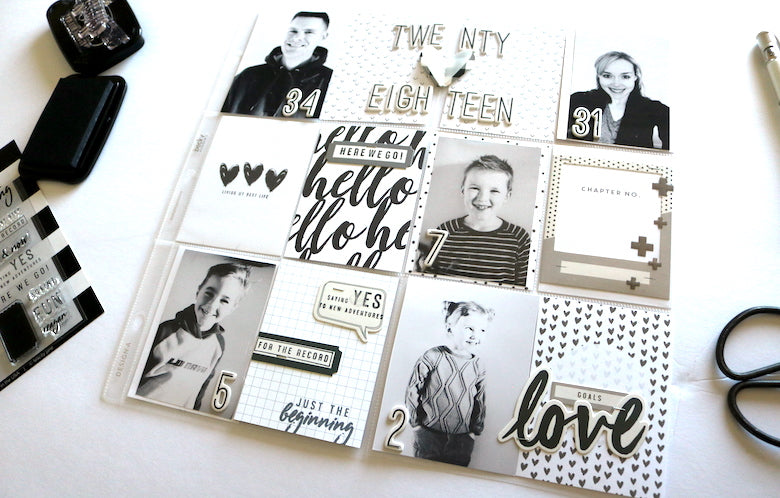 Pocket Page Stamp Focus | Carol Chastain