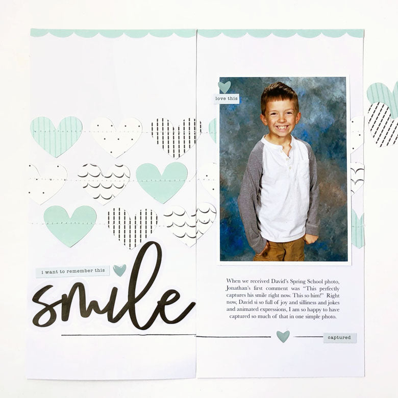 Remember That Smile TN Spread | Lynne Ashcraft