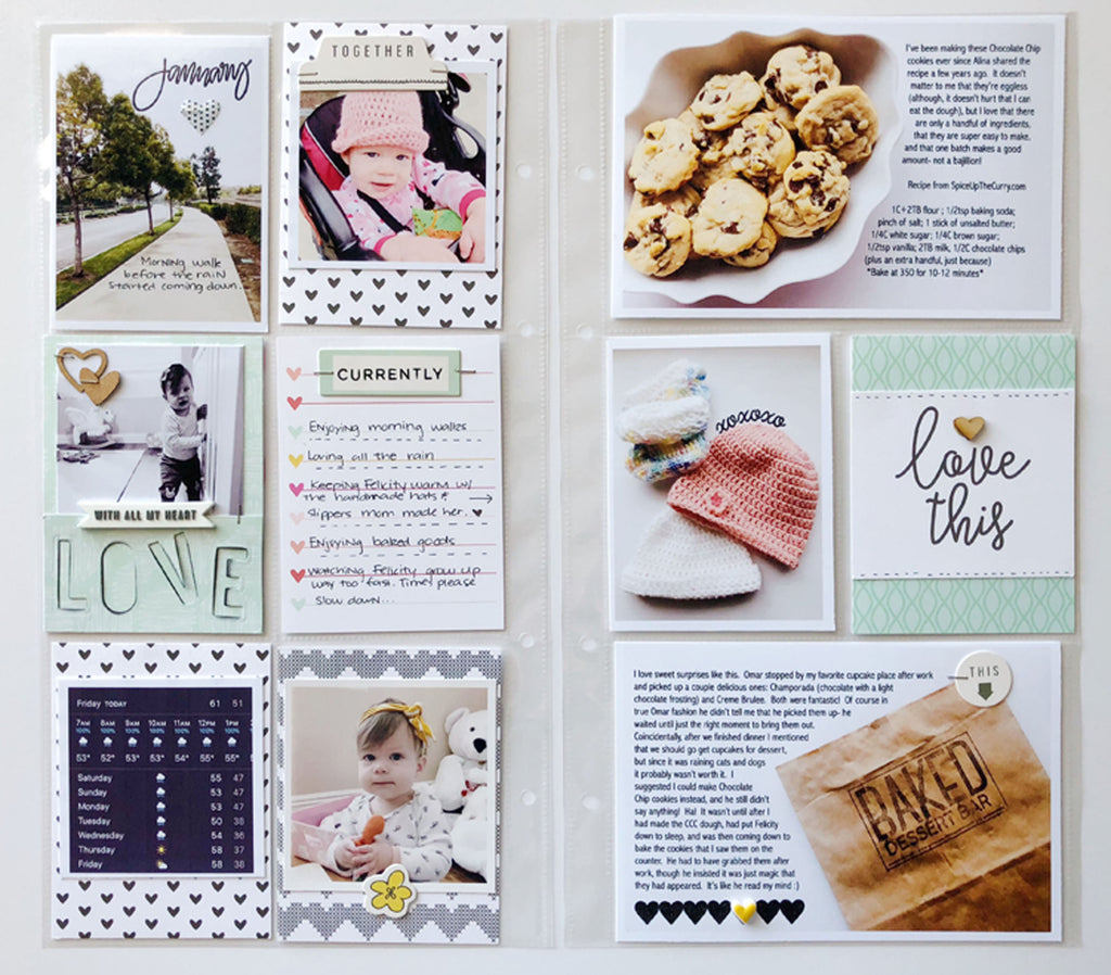 6x12 Layout Using Lindsey Kit | Sarah Zayas
