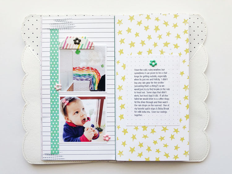 TN Layout Using Jaimee Kit | Sarah Zayas