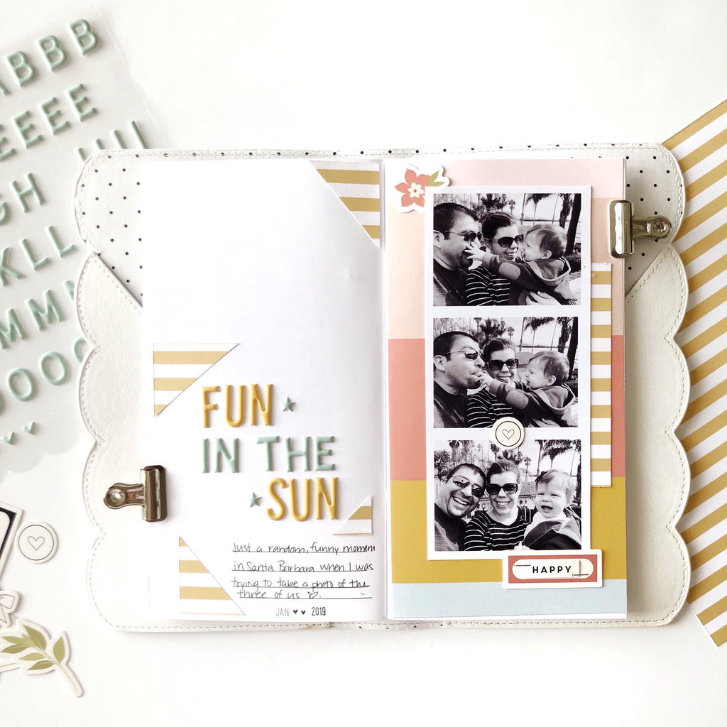 Fun in the Sun TN Layout | Sarah Zayas