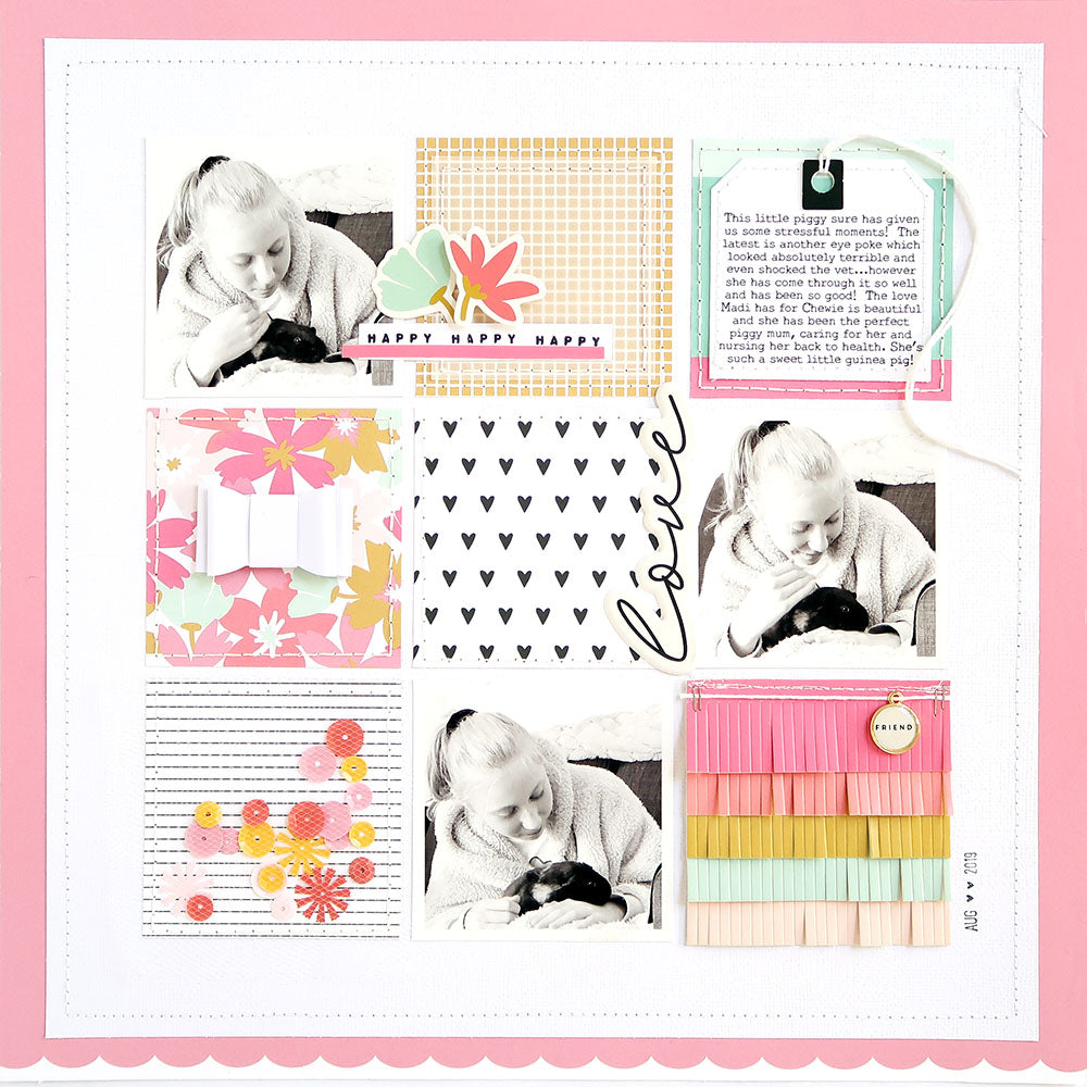 Love Layout | Sheree Forcier