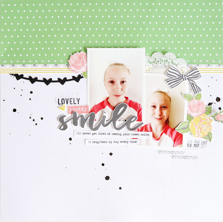 Smile Layout | Sheree Forcier