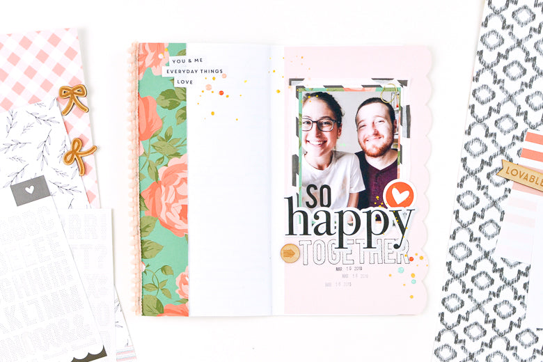 So Happy Together TN Layout | Suzanna Stein