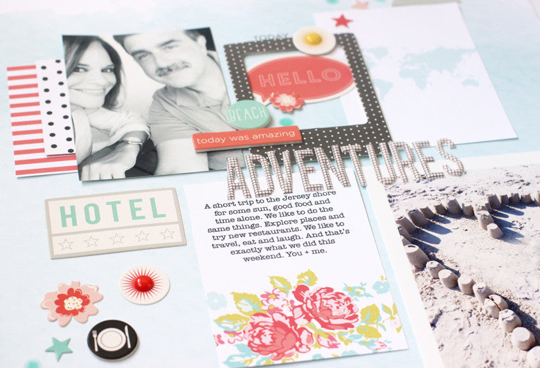 Summer Kit + Creating on a Diagonal | Nancy Damiano