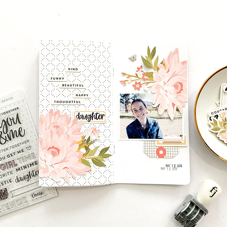 'Daughter' TN Layout with the Denise Kit | Mandy Melville